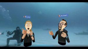 Facebook VR Sanal Gerçeklik Gözlüğü Demosu