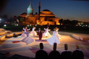 Konya'da Şeb-i Aruz zamanı